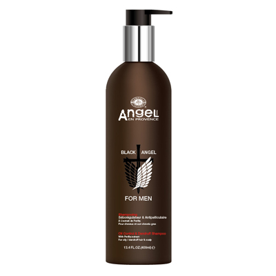 Black Angel For Men Oil Control & Dandruff Shampoo