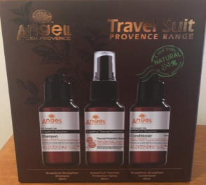 Dancoly Grapefruit Travel Suite for Straight or Chemically Damaged hair