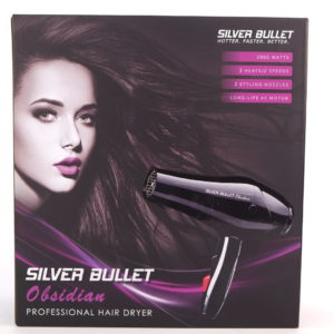 Silver Bullet Obsidian Professional Hair Dryer