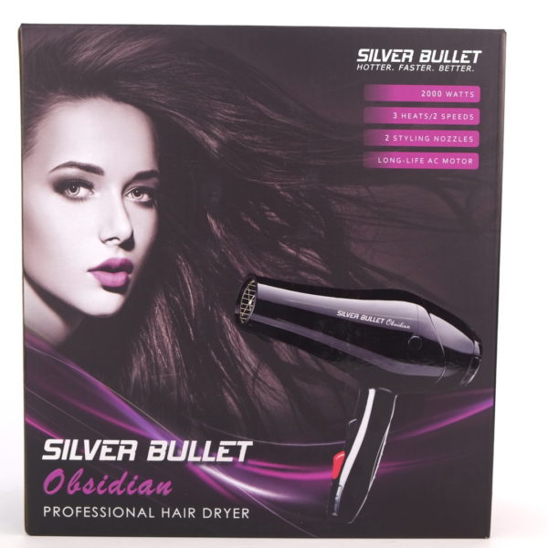 Silver Bullet Obsidian Professional Hair Dryer