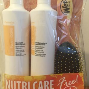 Fanola Nutri Care GiftPack with Free Wet Brush