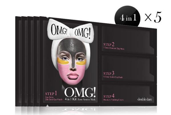 OMG! 4 in 1 Kit Zone System Mask