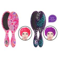 The Wet Brush Original Detangler & Shower Cap Duo