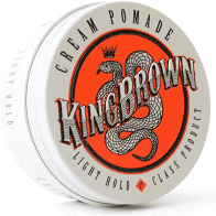 King Brown Light Hold Cream Pomade