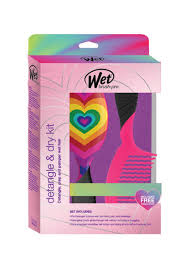 The Wet Brush pro Detangle & Dry Kit